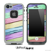Slanted Color Wood V4 Skin for the iPhone 5 or 4/4s LifeProof Case
