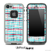 Abstract Color Mesh V2 Skin for the iPhone 5 or 4/4s LifeProof Case