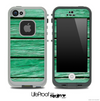 Green Side Wood Skin for the iPhone 5 or 4/4s LifeProof Case