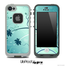 Blue Falling Confetti Skin for the iPhone 5 or 4/4s LifeProof Case