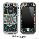 The Textile Floral Lace Skin for the iPhone 5 or 4/4s LifeProof Case
