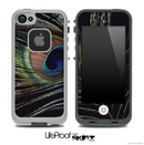 Ornate Peacock Skin for the iPhone 5 or 4/4s LifeProof Case