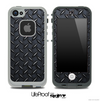 Dark Diamond Plate Skin for the iPhone 5 or 4/4s LifeProof Case