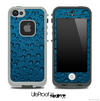 Blue Condensation Skin for the iPhone 5 or 4/4s LifeProof Case