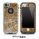 Cracked Wood Knot Skin for the iPhone 5 or 4/4s LifeProof Case