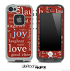 Joy & Love Skin for the iPhone 5 or 4/4s LifeProof Case