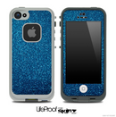 Blue Sparkles Skin for the iPhone 5 or 4/4s LifeProof Case