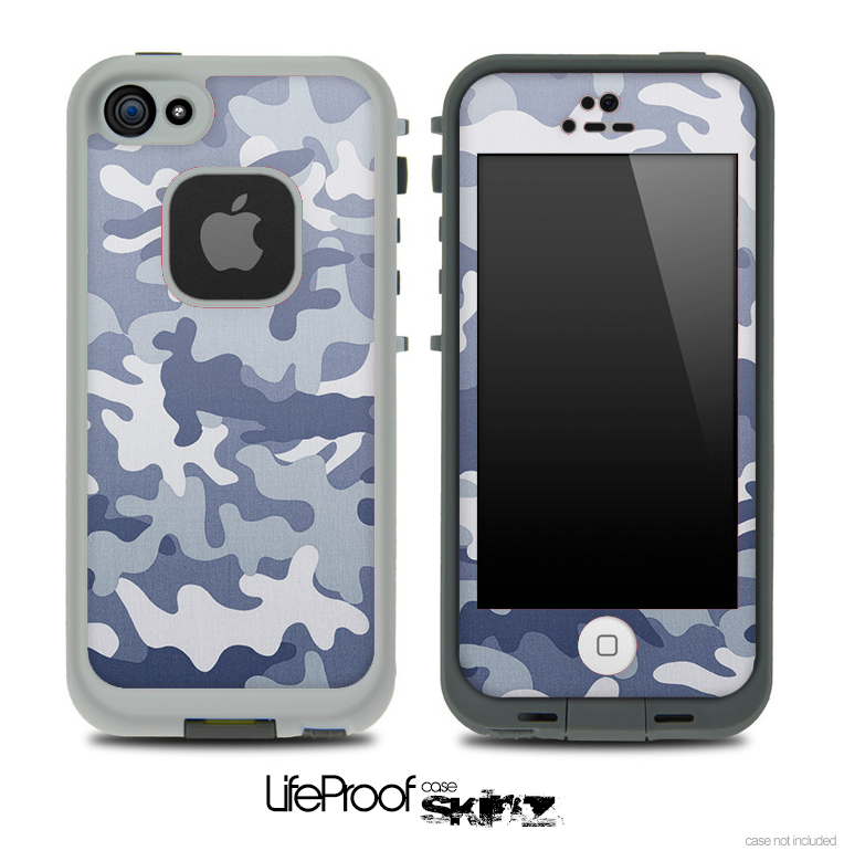 Simple Arctic Camo Skin for the iPhone 5 or 4/4s LifeProof Case