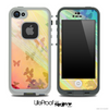 Colorful Butterfly Shadow Skin for the iPhone 5 or 4/4s LifeProof Case