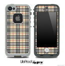 Fancy Plaid Skin for the iPhone 5 or 4/4s LifeProof Case