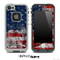 Grunge American Flag Skin for the iPhone 5 or 4/4s LifeProof Case