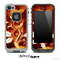 Flower 'N' Flame Skin for the iPhone 5 or 4/4s LifeProof Case