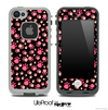 Pink Paws Skin for the iPhone 5 or 4/4s LifeProof Case