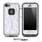 Wrinkled White Paper Skin for the iPhone 5 or 4/4s LifeProof Case