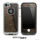 Rusted Bionics Skin for the iPhone 5 or 4/4s LifeProof Case