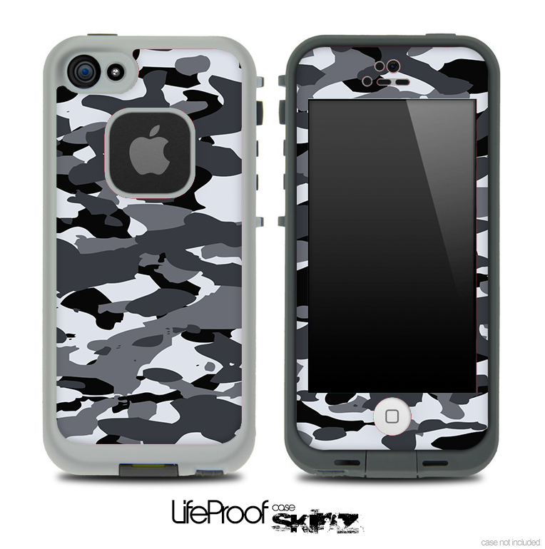 Snow Traditional Camouflage Skin for the iPhone 5 or 4/4s LifeProof Case