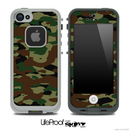 Traditional Camouflage Skin for the iPhone 5 or 4/4s LifeProof Case
