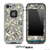 Hundred Dollar Bill Skin for the iPhone 5 or 4/4s LifeProof Case