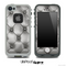 Silver Cushion Skin for the iPhone 5 or 4/4s LifeProof Case