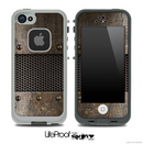 Grunge Metal Plated Skin for the iPhone 5 or 4/4s LifeProof Case