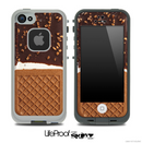 Ice Cream Waffle Cone Skin for the iPhone 5 or 4/4s LifeProof Case