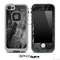 Cracked Black Planks of Wood Skin for the iPhone 5 or 4/4s LifeProof Case