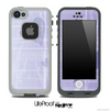 Subtle Purple Hearts Skin for the iPhone 5 or 4/4s LifeProof Case