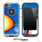 Blue Wild Pattern Skin for the iPhone 5 or 4/4s LifeProof Case