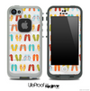 Vintage Flip Flop Skin for the iPhone 5 or 4/4s LifeProof Case