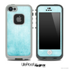 Vintage Subtle Blue Skin for the iPhone 5 or 4/4s LifeProof Case