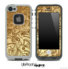 Vintage Gold Pattern Skin for the iPhone 5 or 4/4s LifeProof Case