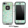 Vintage Green Pattern Skin for the iPhone 5 or 4/4s LifeProof Case