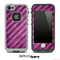 Parallel Pink & Purple Stripes Skin for the iPhone 5 or 4/4s LifeProof Case
