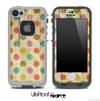 Vintage Polka Dot Pattern Skin for the iPhone 5 or 4/4s LifeProof Case