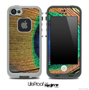 Large Peacock Feather Skin for the iPhone 5 or 4/4s LifeProof Case