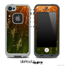 Orange Neon Rain Skin for the iPhone 5 or 4/4s LifeProof Case