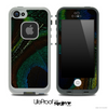 Peacock Closeup V2 Skin for the iPhone 5 or 4/4s LifeProof Case