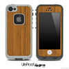 Bamboo Wood Skin for the iPhone 5 or 4/4s LifeProof Case