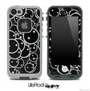 Dark Faces Skin for the iPhone 5 or 4/4s LifeProof Case