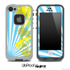Blue Sunrise Splattered Yellow Skin for the iPhone 5 or 4/4s LifeProof Case