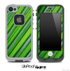 Stripped Grass Droplet Skin for the iPhone 5 or 4/4s LifeProof Case