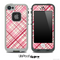 Light Pink Plaid Skin for the iPhone 5 or 4/4s LifeProof Case