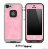 Faded Pink Floral Skin for the iPhone 5 or 4/4s LifeProof Case