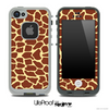 Simple Giraffe Skin for the iPhone 5 or 4/4s LifeProof Case