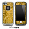 Yellow Elegant Flower Skin for the iPhone 5 or 4/4s LifeProof Case