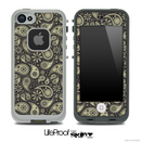 Light Yellow Paisley Skin for the iPhone 5 or 4/4s LifeProof Case
