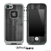 Dark Solid Wood Skin for the iPhone 5 or 4/4s LifeProof Case