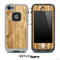 Vertical Light Wood Skin for the iPhone 5 or 4/4s LifeProof Case