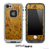 Unique Wood Skin for the iPhone 5 or 4/4s LifeProof Case