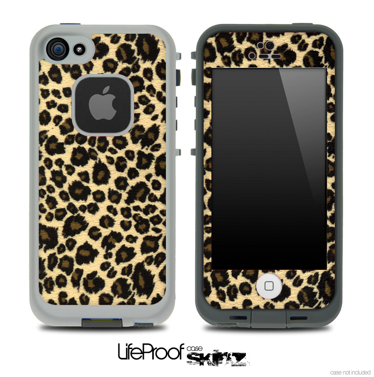 Small Jaguar Skin for the iPhone 5 or 4 4s LifeProof Case - DesignSkinz 5bba7ed9640e